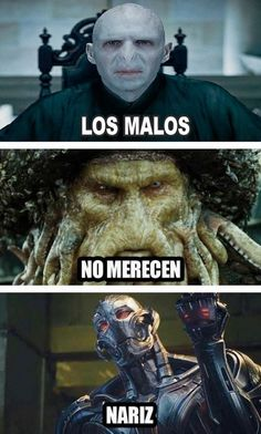 Read Villanos from the story Memes by saz_wppm with reads. Harry Potter Tumblr, Harry Potter Memes, Funny Images, Funny Pictures, Funny Jokes, Hilarious, Spanish Jokes, Marvel Memes, Series Movies