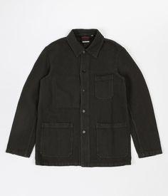 Vetra No.4 Herringbone Workwear Jacket - Khaki