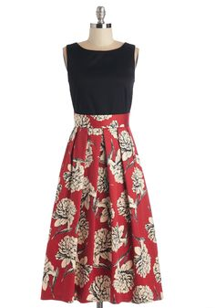 Standout Speaker Dress, #ModCloth