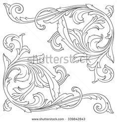 Стоковые фотографии и изображения Antique Patterns | Shutterstock