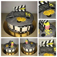 Movie cake Cinema gateau