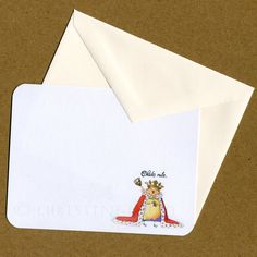 8 Flat NotecardsChicks Rule Notecards by theillustratednest, $10.00