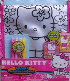 Hello Kitty Doodle Messenger Bag 2013 8e4856bf5d4f1