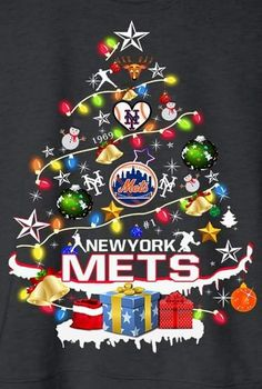 My Mets, My Dream Team, New York Mets, Christmas Bulbs, Wallpapers, Baseball, My Favorite Things, Holiday Decor, Baseball Promposals