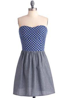 Midnight Sun Dress | Mod Retro Vintage Printed Dresses | ModCloth.com
