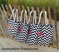 DIY Beach Bags. Soooo excited to try!!