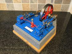 Mill Engine, Built for me by Albert Ranaldi. Steam Boiler, Engineering, Model Building, Technology