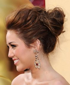 Love this relaxed updo.
