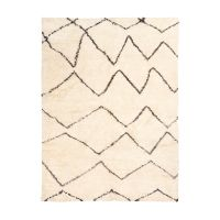 Natural & Gray Ombre Zoey Shag Carpet