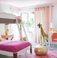 Alan Campbell Aruba II curtains by Elena Calabrese Alan Campbell, Modern Interior, Interior Design, Modern Moroccan, Little Girl Rooms, Kids Bedroom, Kids Rooms, Cool Rooms, Home Collections