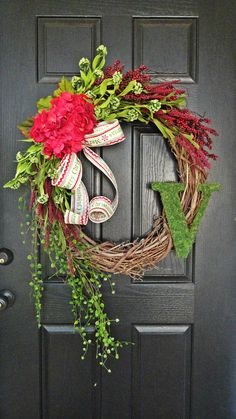 The Grand Christmas Wreath  Extra Large by AnnabelleEveDesigns, $89.00