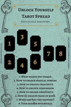 "The Cracked Amethyst — kikiscauldron: Unlock yourself tarot spread: the. - kikiscauldron: ""Unlock yourself tarot spread: the keys to self discovery."