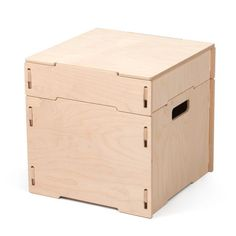 Sprout Small Square Wooden Storage Ottoman, All Other Finishes Diy Kids Furniture, Furniture Ads, Modular Furniture, Plywood Furniture, Luxury Furniture, Furniture Design, Cheap Furniture, Nomadic Furniture, Plywood Desk