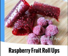 {Thermomix} Raspberry Fruit Roll Ups Raspberry Fruit, Fruit Roll Ups, Sweet Treats, Rolls, Apple, Cooking, Desserts, Food, Sugar