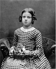 Daguerreotype of Annie Darwin, daughter of Charles and Emma Darwin, 1849.