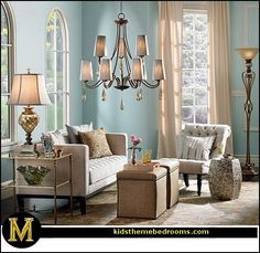 Old Hollywood Glamour Decor | Manor: Hollywood glam living rooms - old Hollywood style decorating ...