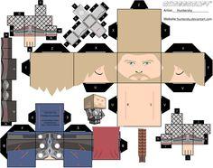 Thor Cubeecraft by topduelist.deviantart.com on @DeviantArt
