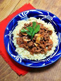 La Cocina de Leslie: Tomato-Mushroom Beef #WeekdaySupper