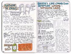 My travel journal: Sagada 3/5 by Wedgienet.net - Illustration / Design, via Flickr