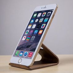Samdi Wooden Mobile Phone Holder for iPhone 6 Plus 5 SE Cell Phone Universal Wood Desk Phone Stand for Samsung Note Holder) Cell Phones In School, Cell Phones For Sale, Iphone Holder, Cell Phone Holder, Wooden Phone Holder, Sprint Cell Phone Deals, Cell Phone Mount, Mobile Holder, Phone Stand
