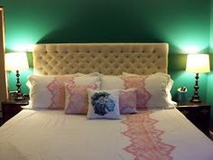 King Size Headboard with tufting instructions