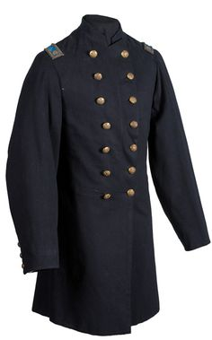 Civil War Double-Breasted Frock Coat Worn by Major William S. Harlan, 159th Ohio (NG) Infantry (4/30/2014 - Firearms and Militaria: Live Salesroom Auction)