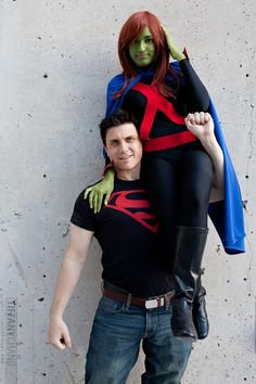Miss Martian - faroffseas Superboy - J (link unavailable) Photographer - Tiffany Chang