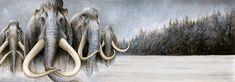 Mammoths by Marc Potts Markelli.deviantart.com on @DeviantArt