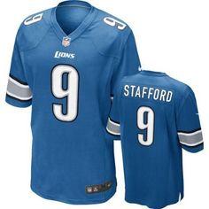 Matthew Stafford Detroit Lions NFL Blue Game Jersey : Sports Fan Jerseys : Sports & Outdoors