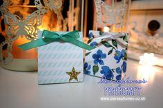 Persephone's Papercraft | Stampin' Up! UK Demonstrator Angel Armogida: 3x6 Series: Tiny Paper Bag