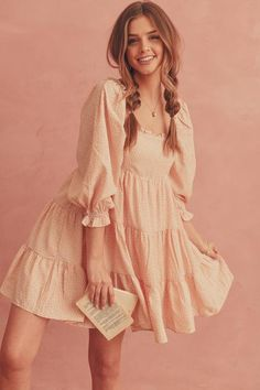 Pretty Dresses, Beautiful Dresses, Pretty Little Dress, Mein Style, Look Vintage, Feminine Dress, Cute Casual Outfits, Casual Dresses For Teens, Cute Dress Outfits