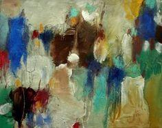 """Saatchi Art Artist c o r i n n a w a g n e r; Painting, """"die Versammlung"""" #art"""