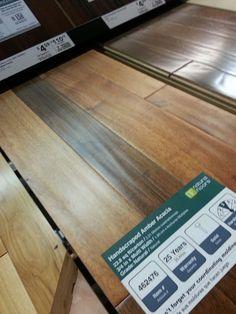 Handscraped Amber Acacia by Natural Floors.  Love this!!!