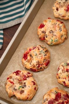 Fruit Cake Cookies Recipe, Fruit Cakes, Fun Baking Recipes, Cookie Recipes, Old Fashioned Fruit Cake Recipe, Christmas Baking, Christmas Cookies, Recipe For Mom, Baked Goods