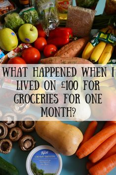 I've finished my £100 grocery challenge. Find out how I'm money saving, batch cooking, meal planning and more to spend just £100 on groceries. Come see the results now!