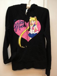 Sailor Moon Hoodie I have this.
