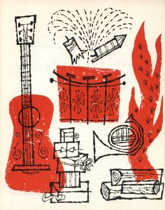 Music illustration from the 50's