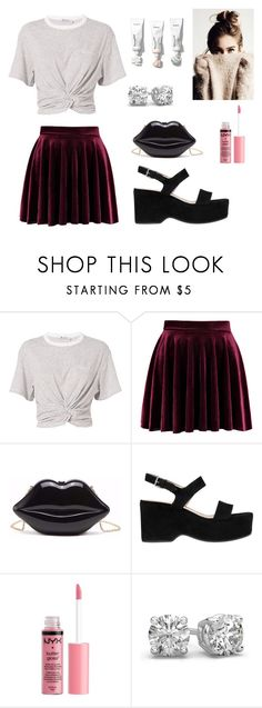 """""""Untitled #60"""" by isabellemarques1 ❤ liked on Polyvore featuring T By Alexander Wang, Marc Jacobs and Charlotte Russe"""