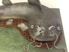 """""""Catfish"""" Cake by Melissa Reynolds at Sweet Boutique"""