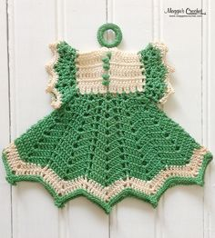 Maggie's personal crochet potholder collection
