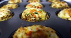 He and She Eat Clean: Clean Eat Recipe :: Egg Quiche Muffins