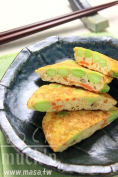日本料理食譜-板豆腐鬆軟歐姆蛋,年菜食譜