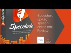 Speechelo - Text to Speech Online Tool Mini Review Marketing Tools, Affiliate Marketing, Helpful Hints, Reading, Mini, Useful Tips, Reading Books