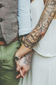 Panna Młoda z tatuażem?  Madame Allure. Najpiękniejsze inspiracje ślubne!