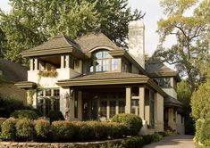 Lake Harriet Residence - traditional - exterior - WOW! Love the detail on these old homes...or is this a new home built to look old? Well done!