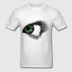 dynamitfrosch at Spreadshirt ✓ Trendy designs on different products ✓ T-shirts hoodies & accessories in many colours ✓ Order your favourite design from dynamitfrosch! Eye, Mens Tops, T Shirt, Design, Supreme T Shirt, Tee Shirt, Tee