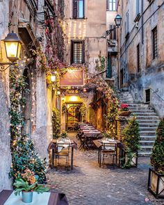 Outdoor cafe in Italy Outdoor cafe in Italy,Travel aesthetic travel italy inspo places The Places Youll Go, Places To See, Café Exterior, Outdoor Cafe, Travel Aesthetic, Adventure Is Out There, Dream Vacations, Italy Travel, Rome Travel