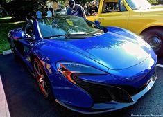 Blue McLaren 650S Spider MSO Looks Stunning