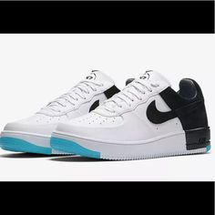 reputable site d1977 de726 Nike Shoes   Nike Air Force 1 N7 Deadstock Mens Sz 7 New In Box   Color   Black Blue   Size  7