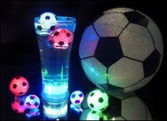 Light up reusable soccer ball ice!